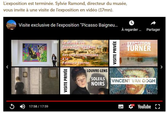 21 Expo Picasso les Baigneuses Video Youtube