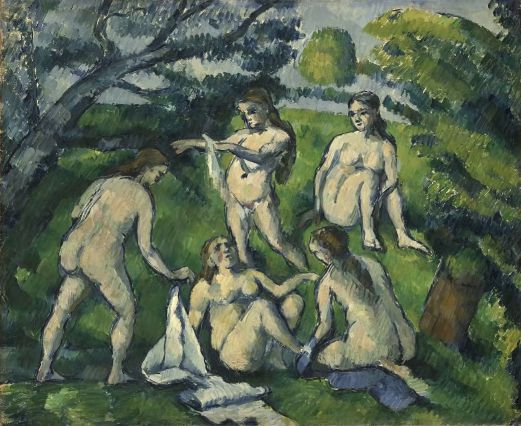 21 Expo Video Picasso les Baigneuses Salle Cezanne 1878
